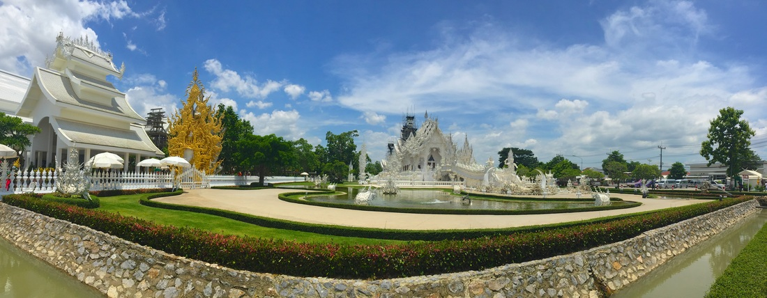 White Temple | Chiang Rai | Hostel Review | Baan Rub Aroon